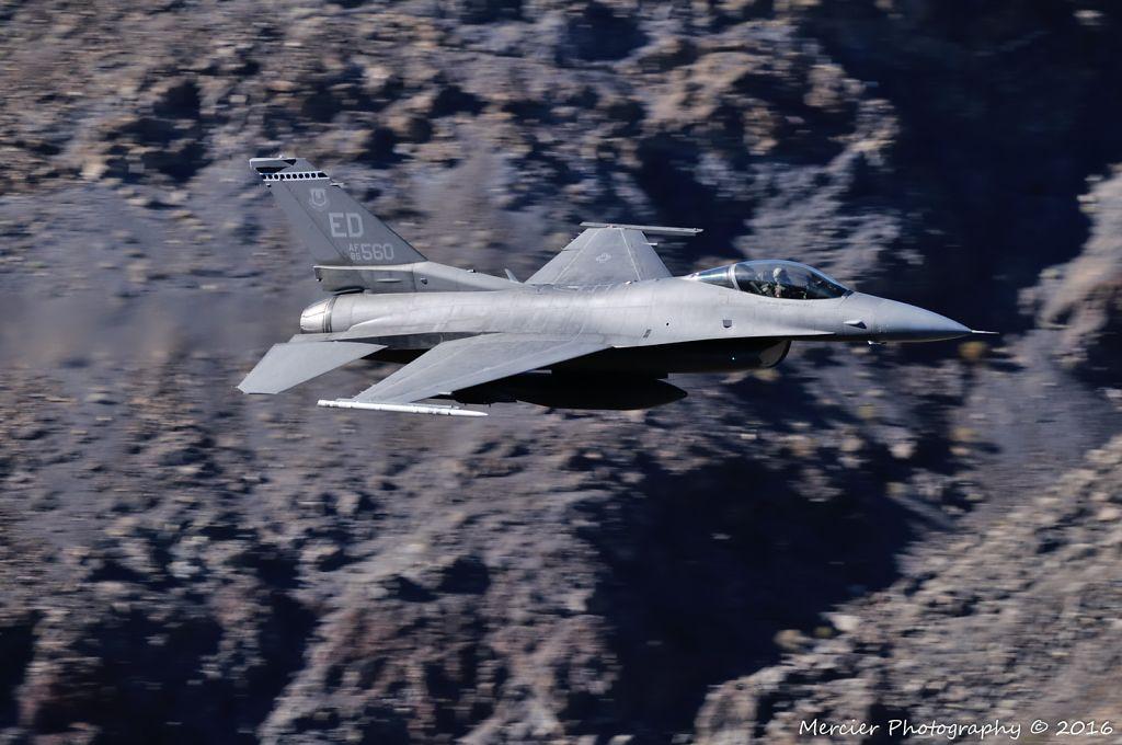 Edward AFB F-16