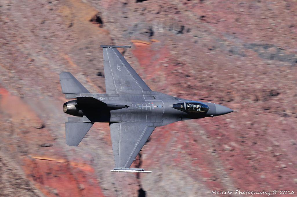 Edwards AFB F-16